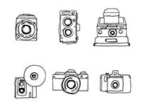 ten (10) lenses & a journal