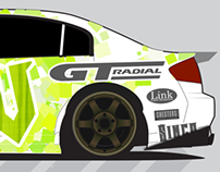 Cole Armstrong Drift Livery Competition