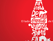 advertising for Coca-Cola (conceptual)