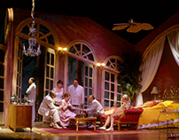 """Assistant Scenic Designer for """"Cat on a Hot Tin Roof"""""""