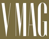 V Magazine typeface