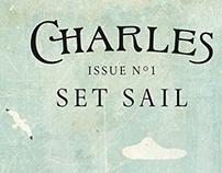Charles magazine masthead