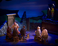 """Lead Scenic Artist for """"The Cripple of Inishmaan"""""""