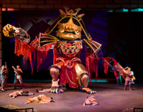 """Puppet Construction for """"Issun Boshi"""""""