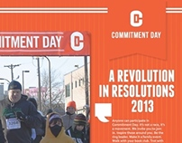 Commitment Day Editorial Design