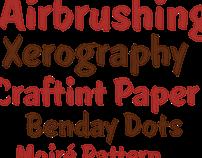 Showcard Stunt typeface