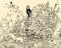 Hayao Miyazaki Doodle Tribute