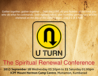 U Turn _ Conference Invitation & Theme Identity
