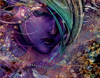 Cyber Divine - Live Painting