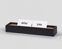 Messaging Tray between couples
