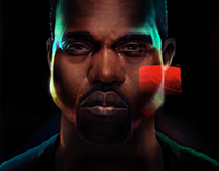 Kanye West - Yeezus. Editorial Illustration