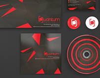 Quantum The Leap Superclub corporate branding