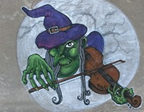 "Graffiti Piker ""Bruja Mago de Oz"""