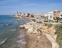 """The region """"coast of Barcelona"""" Fly Photography"""