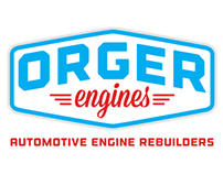 ORGER Engines Branding