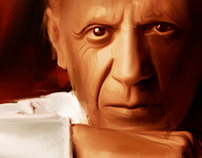 Pablo Picasso a Spanish painter