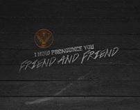 JÄGERMEISTER | I NOW PRONOUNCE YOU FRIEND & FRIEND