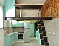 Loft 40m2 en C/ Oviedo, Madrid.