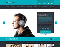Shopbox -  future Wordpress WooCommerce theme