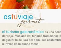 atv Gourmet Collateral & Web