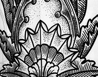 Arc Flowery Tattoo