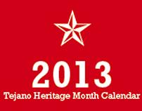2013 Tejano Heritage Month Calendar