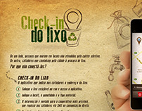 Check-in do Lixo | Recycle |Sustainability