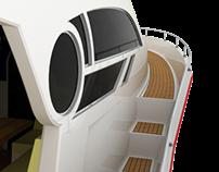 FiberGlass Motoryacht 33'