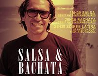 Salsa est cultura, flyers.