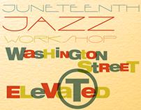 Jazz Workshop @ Levi's Posters