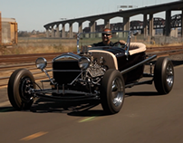 Right Seat Hot Rod: 1922 Ford - /BIG MUSCLE