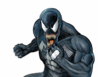 Venom - Digital Art.