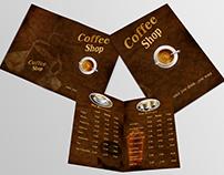 Coffee Shop-Brochure Template