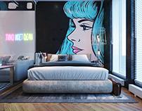 Квартира-студия для студента режиссёрского факультета