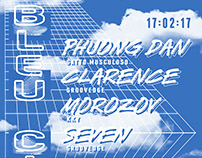 Flyer for Groovedge - 2727 C - Bleu Ciel