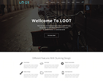Agency PSD Template Home page