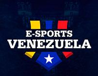 eSports Venezuela - Logo & Overlay Events