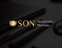 SON Avukatlık Bürosu ( SON Law Firm) - Brand Identity