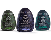 AMULET TEA | collaborative packaging project