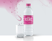Elle Woman Water Label