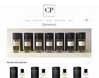 Site web Collection privee parfum