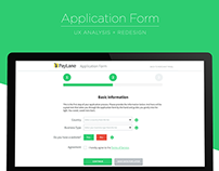 PayLane: Application Form