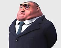 Game Character Design - Boss