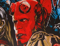 Ken Taylor battles Hellboy