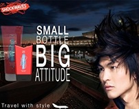 Brand & Identity: Shockwaves Bottle