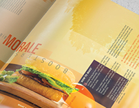 Distorted Perspective     Magazine Layout
