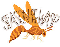 Illustration & Hand Lettering: Wasp