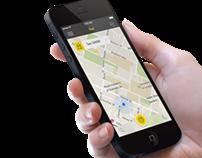 Taxi App Template (iOS7)