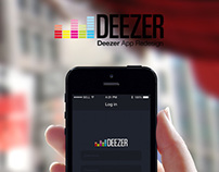 Deezer App Redesign for iOS7