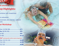 Adapted Aquatics Workshop Flyer